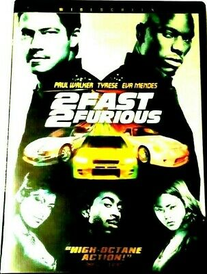 2 Fast 2 Furious (DVD, 2003, Widescreen) W/ Bonus disc