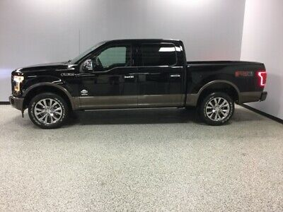 2017 Ford F-150 King Ranch 2017 Ford F-150 King Ranch 33,776 Miles Shadow Black 4D SuperCrew EcoBoost 3.5L