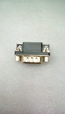 DB9 9way male D-sub right angled PCB connector