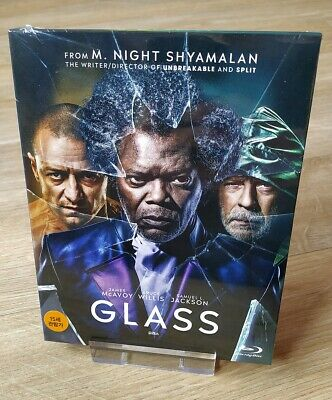 Glass Fullslip Blu-ray Steelbook Korea SMLife Design New Sealed