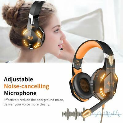 3.5Mm Gaming Headset Mic Led G2000 Headphone For Pc  Ps4 Slim Xbox One 360