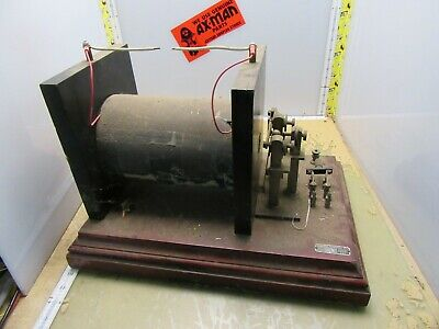 antique cenco laboratory electrical apparatus high voltage? coil? [2*B-31]