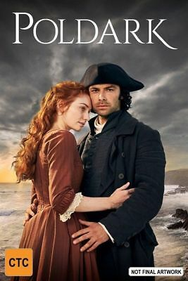 POLDARK Series : Season 4 : NEW DVD (opened but never watched)