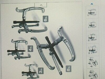 Silverline Ms23 Gear Puller Set 100 And 150mm 3-piece 75