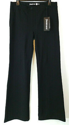 e9703aebfa Betabrand Womens Yoga Dress Pants Size Large Bootcut Black Stretch Pull-on  Long