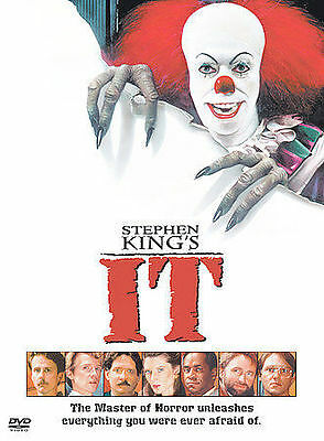 Stephen King's It DVD, Harry Anderson, Annette O'Toole, Tim Reid, Tim Curry, Ric