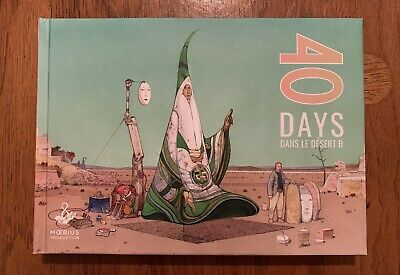 MOEBIUS 40 days dans le desert B illustration Artbook Giraud Color Sketch Arzak