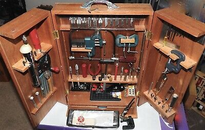 **Updated-Item Added**Rare Large Vtg X-Acto #99 Hobby Work Shop/Tri-Fold Cabinet