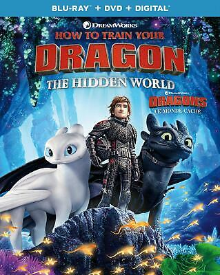 How to Train Your Dragon: The Hidden World ( Blu-ray/DVD/Digital ) with Slip.
