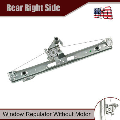 Rear Right Window Regulator without Motor for BMW