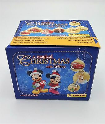 Xmas Magic Disney Figurines Panini 50 x Sealed 250 Stickers Christmas
