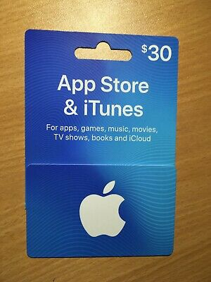 $30 Itunes Gift Card | Unused sealed