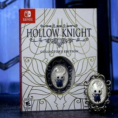 Hollow Knight Collector's Edition Physical Nintendo Switch USA Region Free
