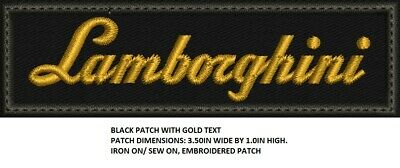 **Love It Or Its Free** Lamborghini Luxury Car Patch, Iron On, Free Ship