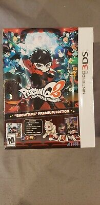 Persona Q2 New Cinema Labyrinth Showtime Premium Edition Nintendo 3DS - dented