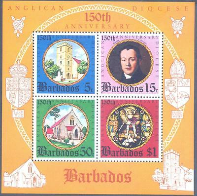 Barbados 1975 Anniv.of Anglican Diocese MS SG 530 MNH