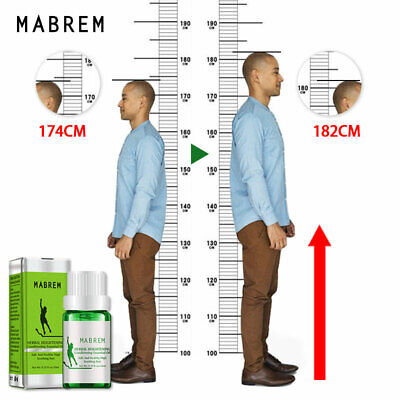 Herbal Height Increasing Conditioning Essential Oil Body Grow Essential Oil nka