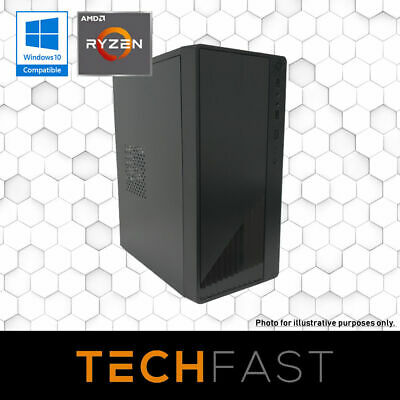 Ryzen 3 2200G 120GB SSD 8GB DDR4 Gaming PC Desktop Computer