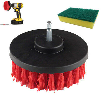 Electric Drill Brush Grout Power Scrubber Cleaning Sponge Tub Cleaner Tool PA