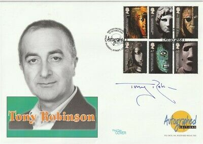 7 Oct 2003 British Museum First Day Cover Signed By Tv Presenter Tony Robinson