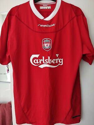 """Liverpool FC Short Sleeved Reebok Home Shirt 38/40"""" Excellent condition"""