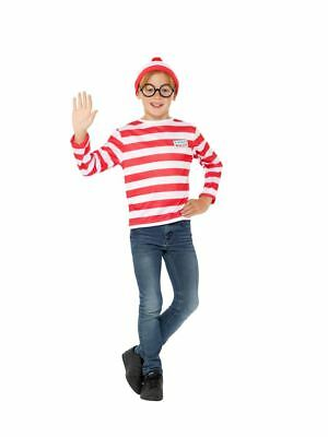 Where's Wally? Instant Kit,Where's Wally Licensed Fancy Dress,Medium Age 7-9 #AT