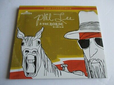 Phil Lee & the Horse He Rode in On 2019 Autographed Gatefold Digipak NEW