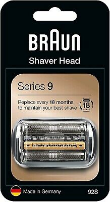 Braun 92S Series 9 Shaver Replacement Foil & Cutter Cassette Refill Cartridge