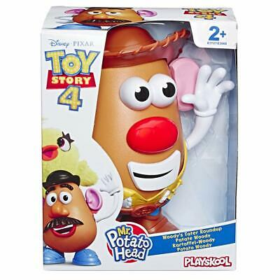 Playskool Mr Potato Head Disney Pixar Toy Story 4 Woody's Tater Roundup Figure