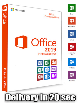 Office 2019 Professional Plus Official Download & Genuine Lifetime Licence Key