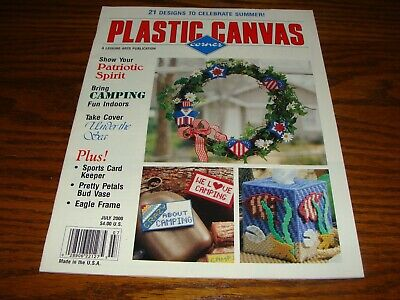 Dandy Dinosaurs Clips /& Pretty Bookmark Plastic Canvas Pattern//Instructions NEW