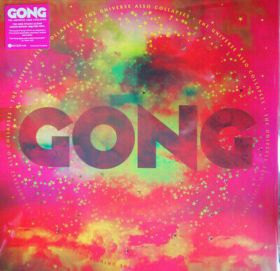 Gong The Universe Also Collapses Vinile Lp Colorato (Pink Vinyl) Nuovo