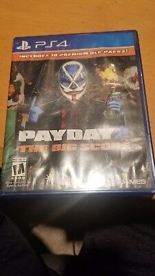 Video Games & Consoles Payday 2 The Big Score Sony Playstation 4 Ps4 Case Only!