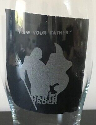 Personalised Engraved Star Wars Themed Tulip Pint Glass With Your Name
