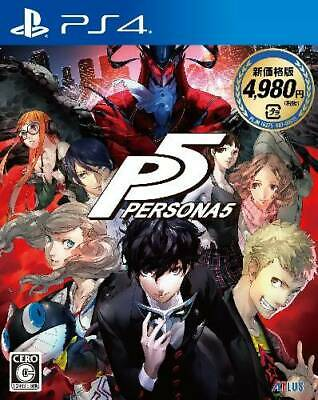 NEW PS4 PERSONA 5 New Price Version JAPAN Sony PlayStation 4 import Japanese