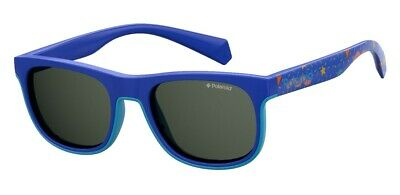 Occhiali da sole Sunglasses Polaroid PLD 8035 S PJP M9 BLUE POLARIZZATO 100% UV