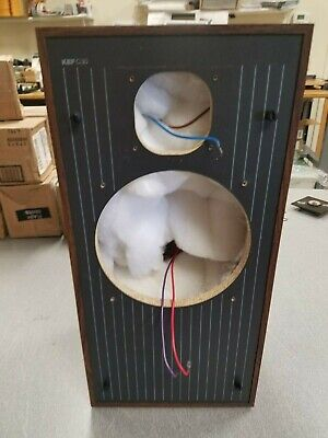 """KEF C30 Speaker Cabinet with crossover ~10""""x20"""""""