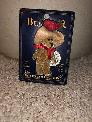 "Beanbag Plush Ty Beanie Boos Mac The Christmas Mouse 9"" Mwmt Ty"