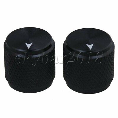 2pcs Volume Control Rotary Knobs For 6mm Dia Potentiometer Durable UK STOCK