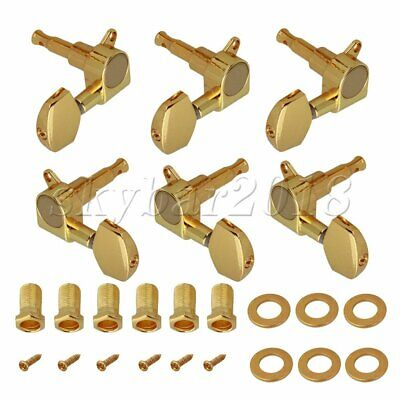 3L3R Gold Machine Head Tuners for Electric/Acoustic Guitars UK STOCK