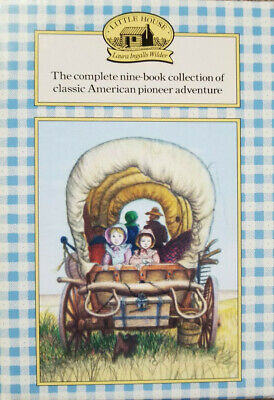 Little House on The Prairie Complete 9 Book Collection Set Box Set New
