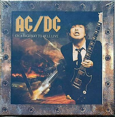 Ac/Dc On Highway To Hell Live! Cofanetto 10 Cd Boxset Nuovo