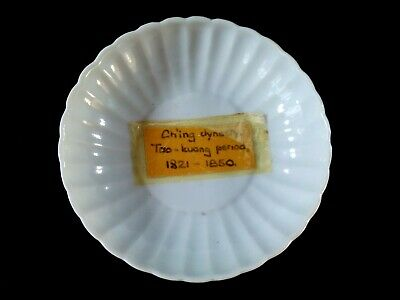 Antique Chinese Ch'ing dynasty Tao-Kuang period dish 1821-1850