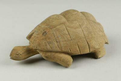 Antique 19th/20th Century South East Asian / Japanese Carved Wooden Tortoise