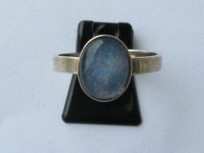 Ring,Silber 835,mit Opal