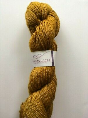 Cat/'s Meow Patina #3225 Italian Thin Thick Wool Blend w// Thread Accent 50 Gram