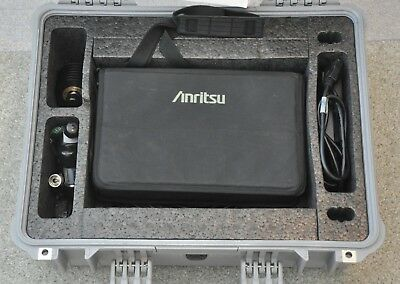 Anritsu Cellmaster MT8212B Câble Antenne & Base Station Analyseur GPS Options