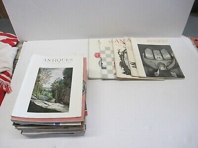 Lot of 28 50s-60s The Magazine Antiques Antique reference and ID resource