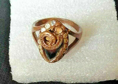 Medieval ROMAN BRONZE RING museum quality ARTIFACT RING ANCIENT