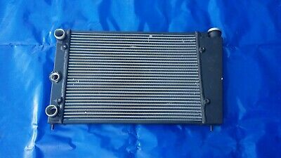 Radiator VW Golf 1 2 Polo Scirocco 53B Clean Cooler Aluminum 2009 Black Black